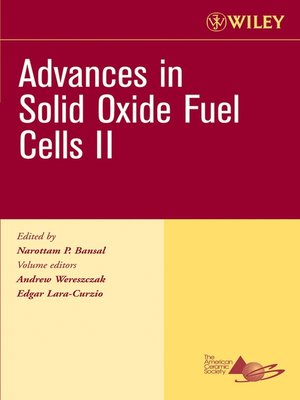 cover image of Advances in Solid Oxide Fuel Cells II